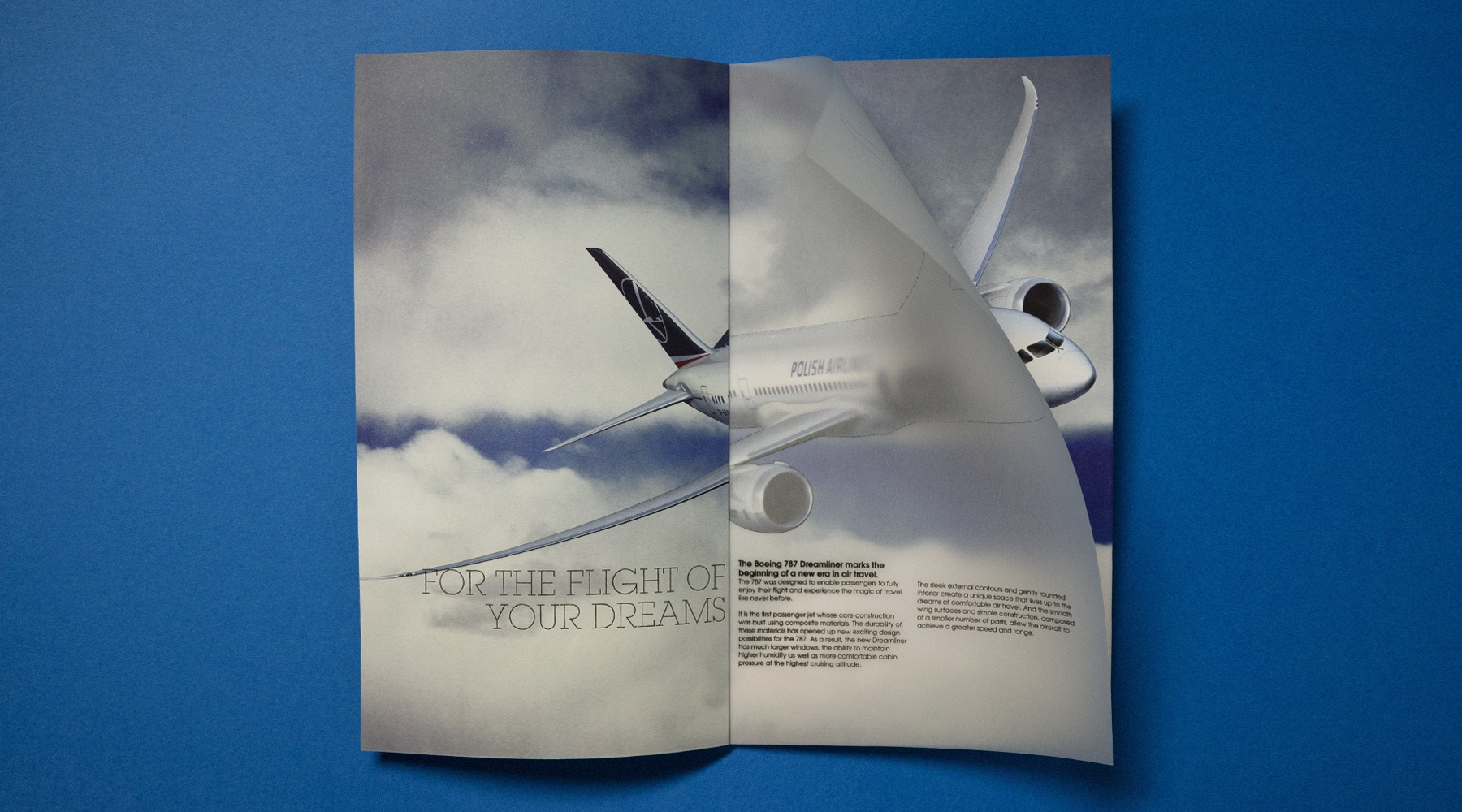 Boeing 787 Dreamliner Brochure | U-GOT DESIGN