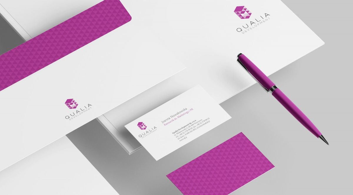 Qualia Development Brand Identity |