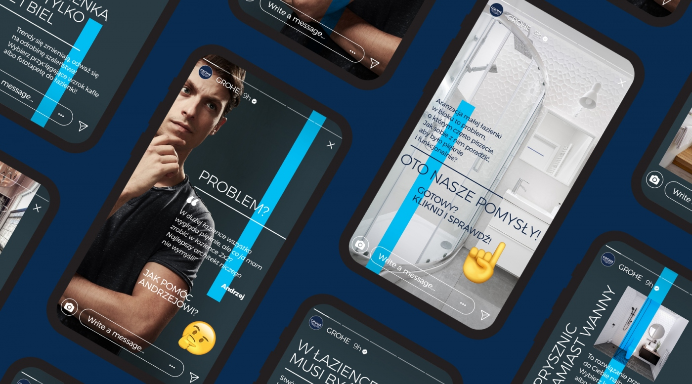 GROHE Instastories Template |